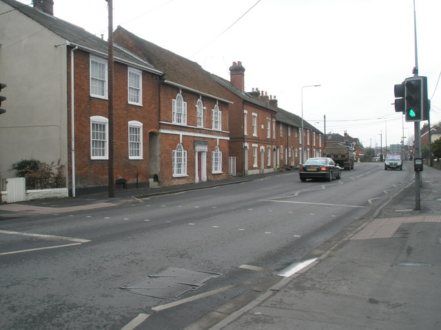 Western end of Winchester Road