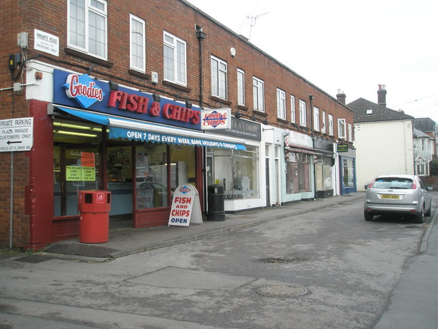 Fish and chip shop in Winchester Road