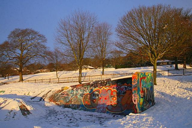Skate park, Dudhope park