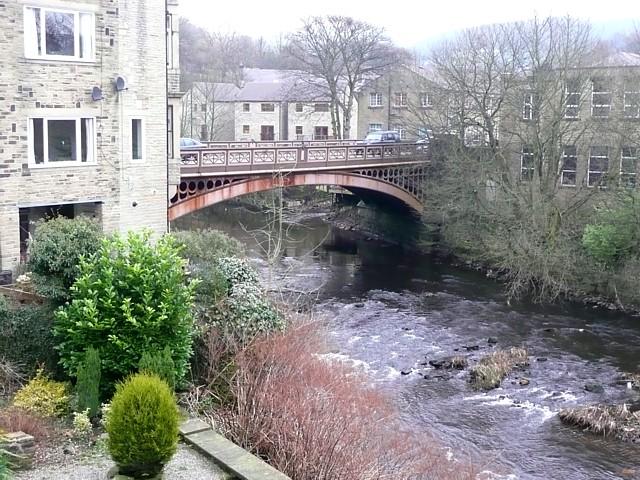 Road bridge over the River Calder, Luddenden Foot