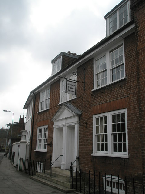 The Wessex Guest House in Palmerston Street