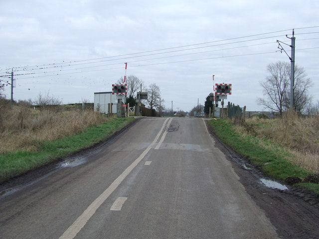 Hilgay Level Crossing