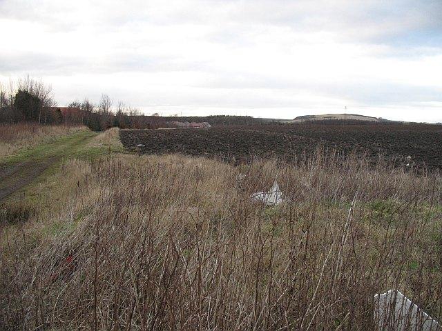 Ploughed field, Duloch