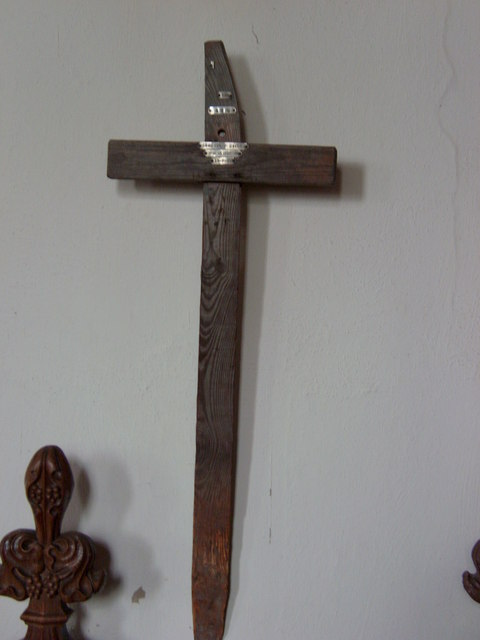 """""""Flanders Cross"""" for Corporal Frederick Cater."""