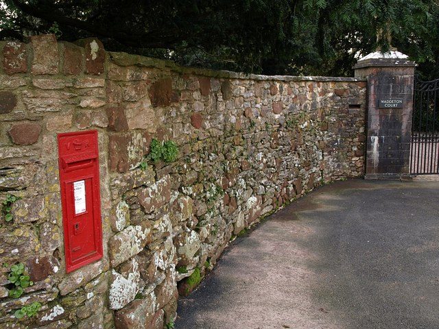 Victorian post box, Waddeton