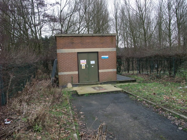 Sewage pumping station, Netherfield Lane, Meden Vale