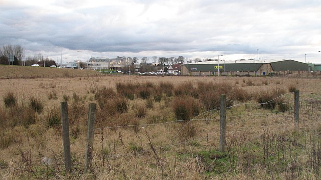 Undeveloped land, Halbeath