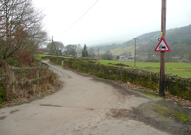 An unusual road sign, Mytholmroyd