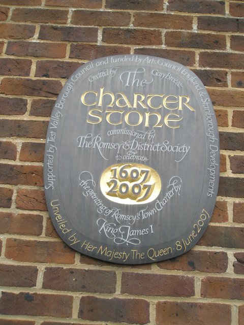 Commemorative plaque in Church Street