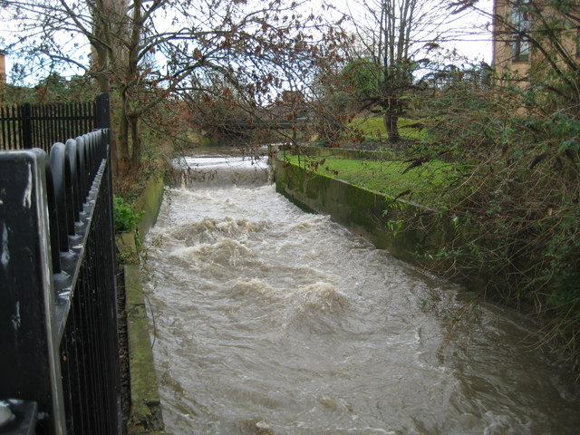 Hogsmill River in Kingston upon Thames