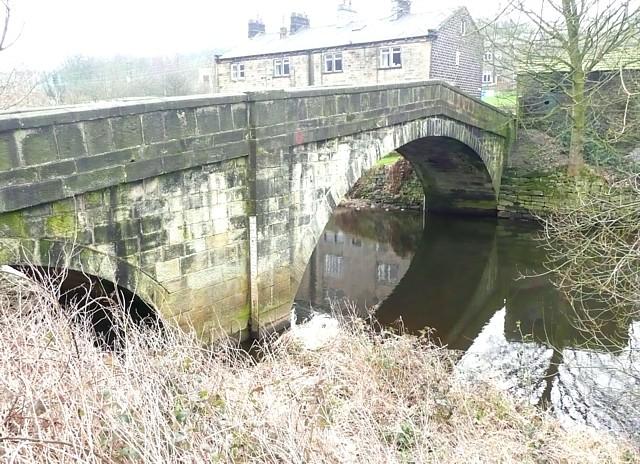 Bridge over the River Calder, Brearley, Mytholmroyd