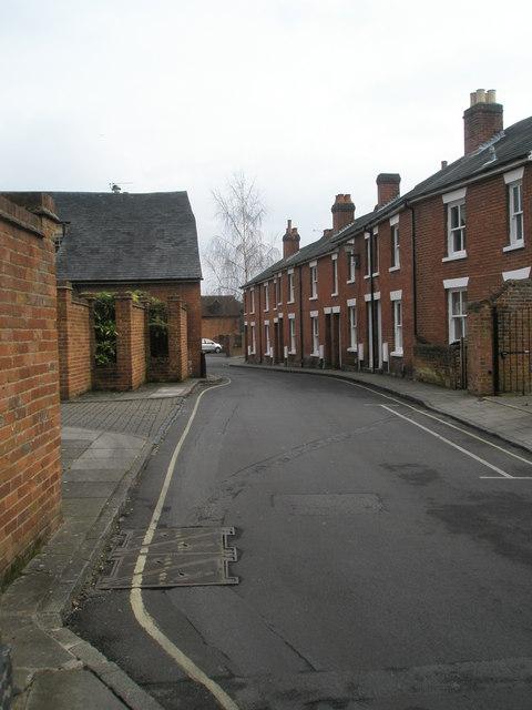 Terrace in Portersbridge Street