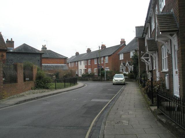 Bend in Portersbridge Street