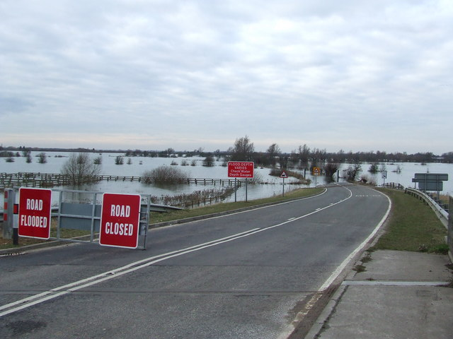 Flooded Road Road Closed