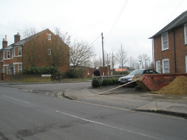 Junction of Station Road and Orchard Lane