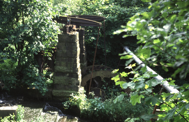 Water powered beam pump, Mount Sion, Radcliffe