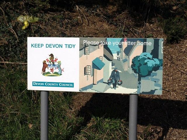 Keep Devon tidy