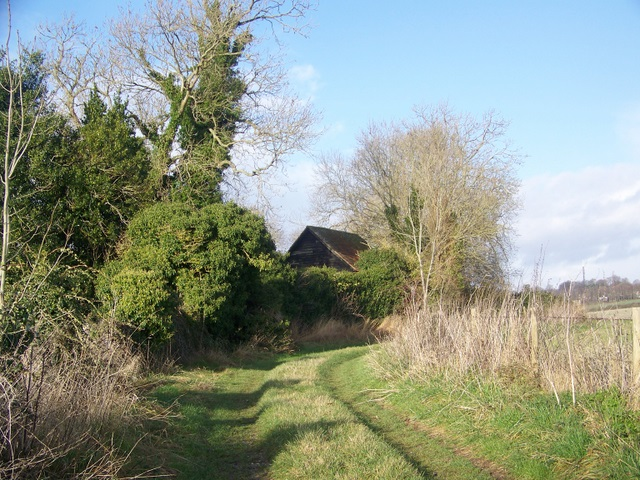Avon Valley Path at Dogdean Farm