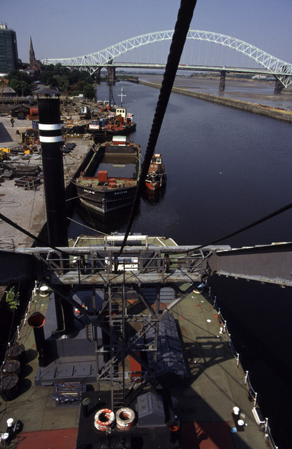 The Manchester Ship Canal, Runcorn