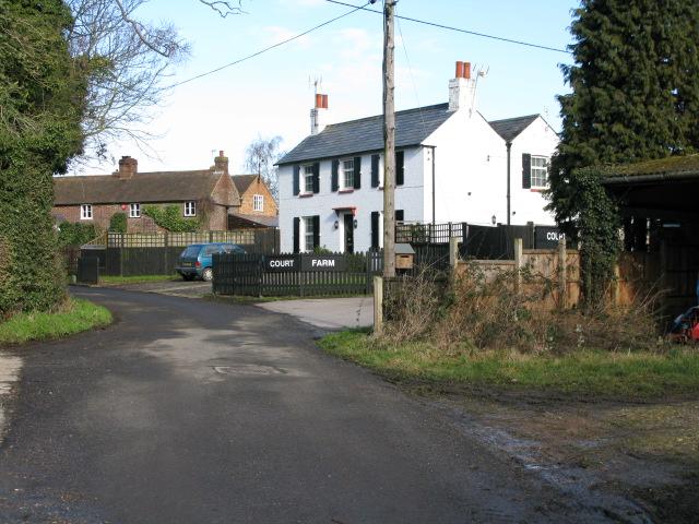 Court Farm on Padbrook Lane, Elmstone