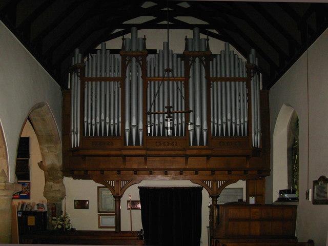 St Laurence's Church Organ