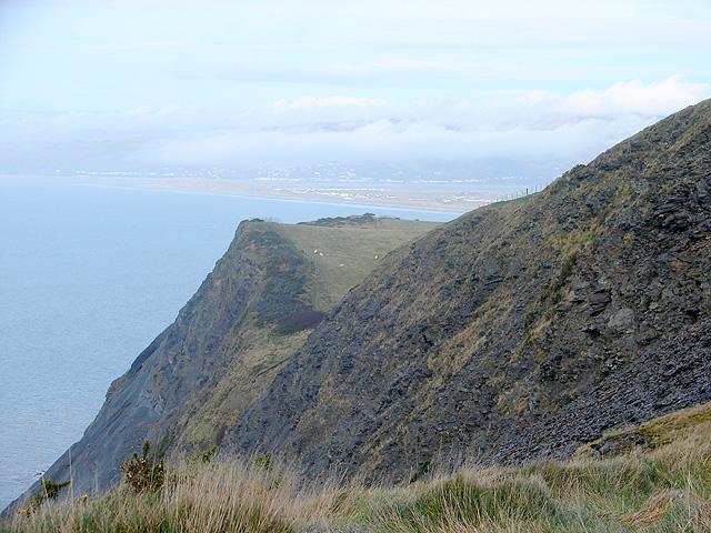 A view towards Craig Y Delyn