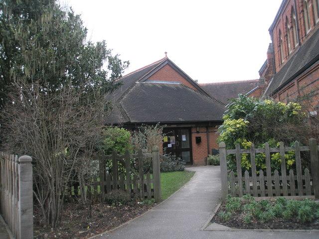 All Saints Church Hall in Alexandra Road