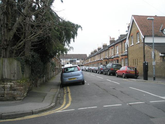Looking from Alexandra Road into St Leonard's Avenue