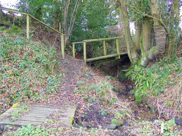 Plank bridge, Donhead St Mary