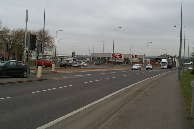 Wigan's notorious Saddle Junction, Newtown