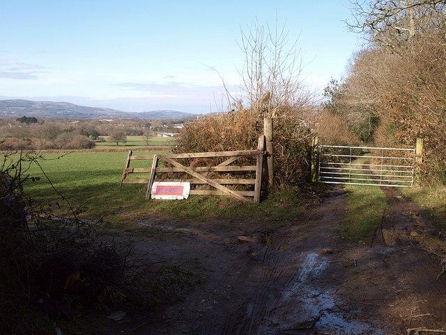 Gateways by Sandslade Copse