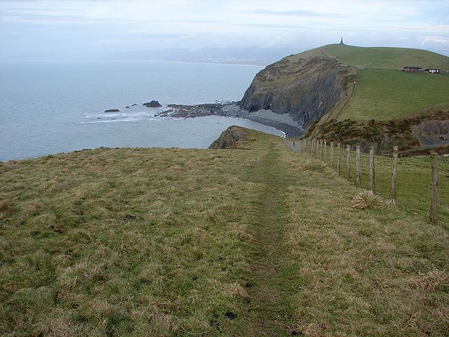 A view towards Carreg Mulfran