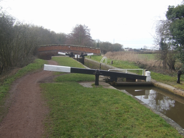 Worcester & Birmingham Canal - Lock 24