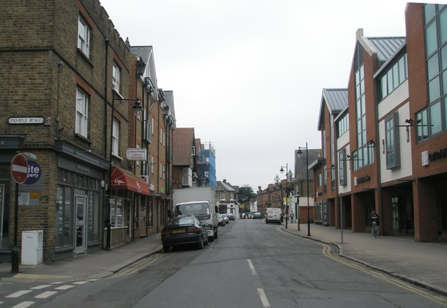 Looking southwards down St Leonard's Road