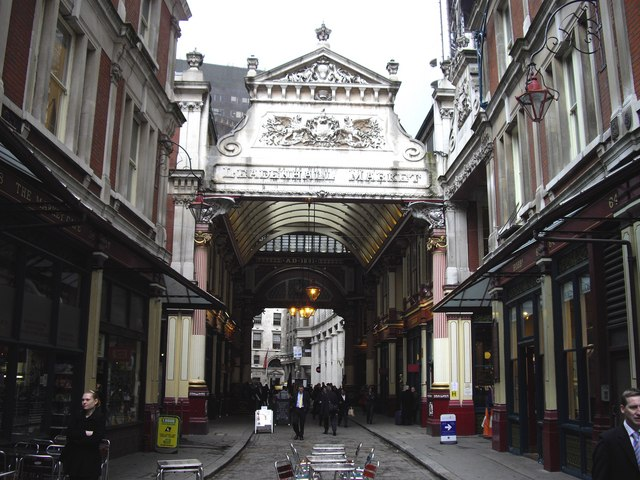 Entrance to Leadenhall Market
