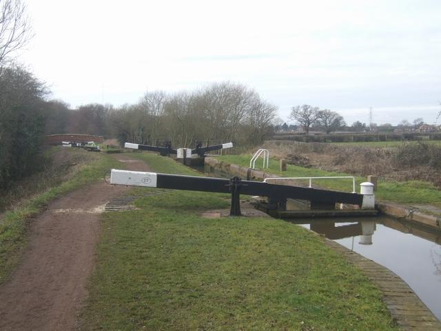 Worcester &  Birmingham Canal - Lock 25