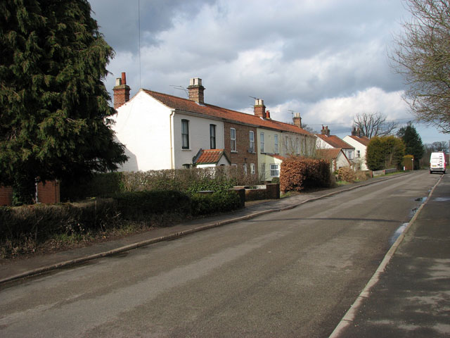 A row of terraced cottages