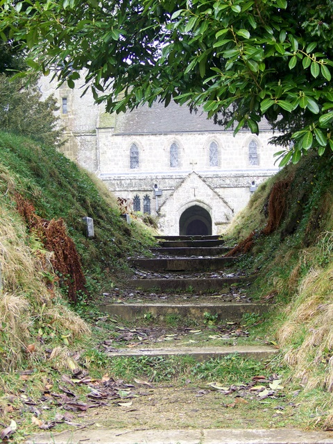 Steps to St Mary's Church