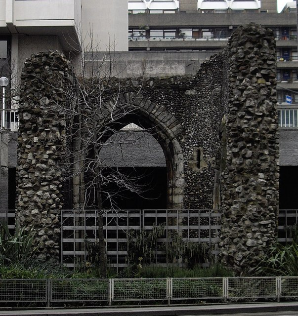Ruins of St. Alphage Church