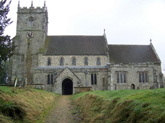 The Church of St Mary, Donhead St Mary
