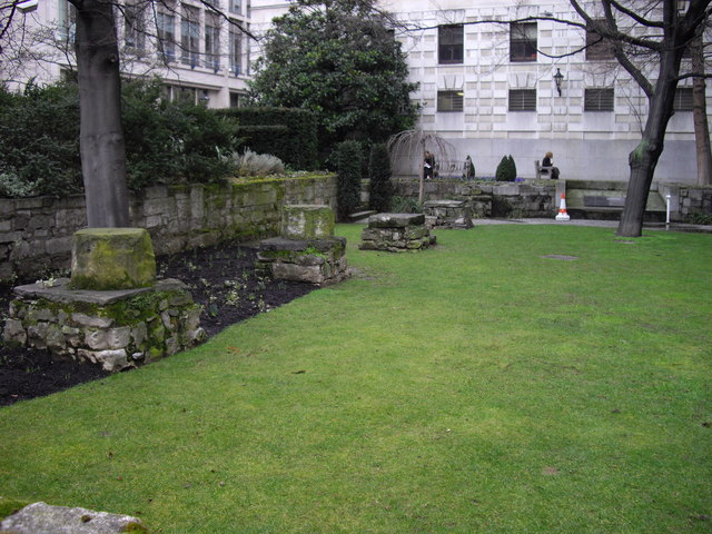 St Mary Aldermanbury (Ruins)