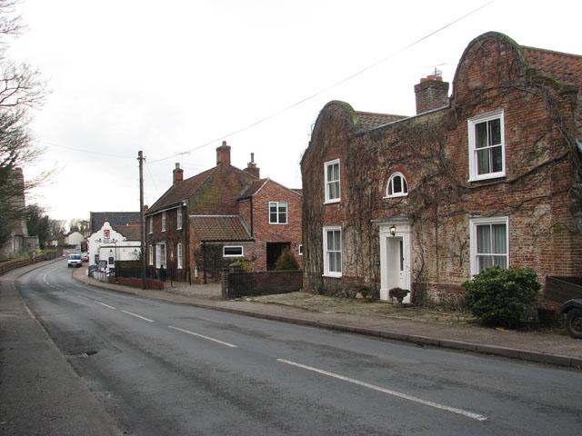 View west along Church Street