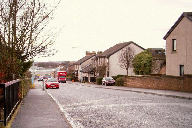 Victoria Street, Forfar, looking west