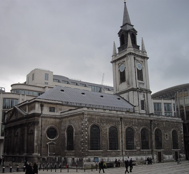 The Guild Church of St Lawrence Jewry