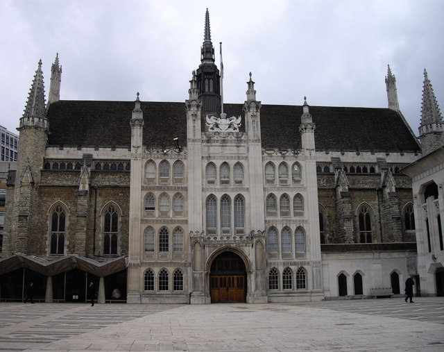 The exterior of the Great Hall  Guildhall