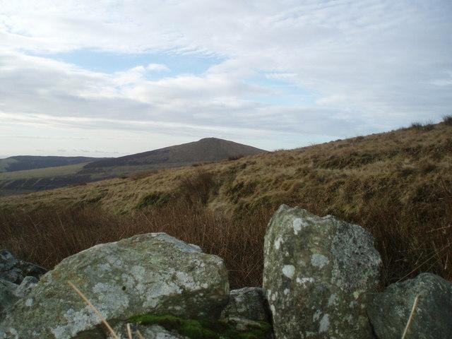 SE slopes of Mullagh Ouyr to Carn Gerjoil