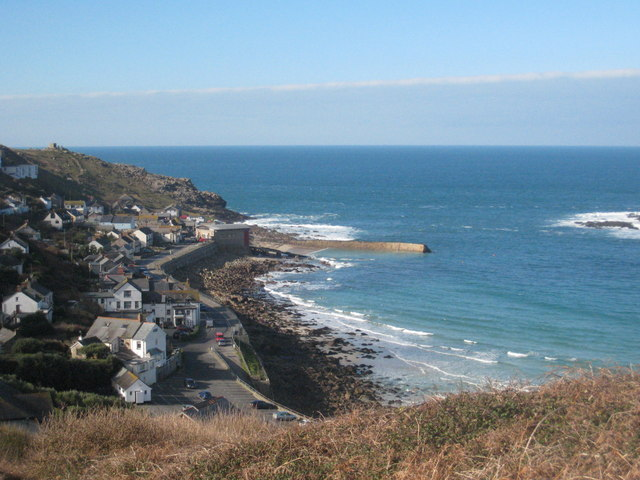 Sennen Cove on a fine February day