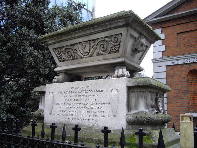 The tomb of Sir William Rawlins