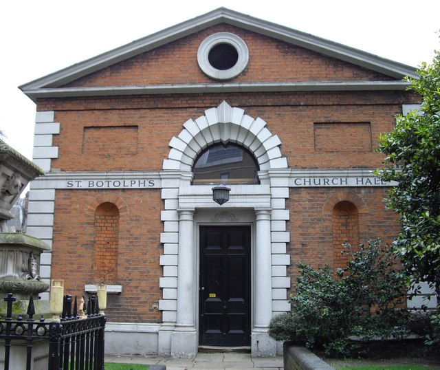 Church Hall at St. Botolph's without Bishopsgate