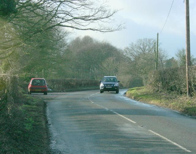2009 : B3115 looking west